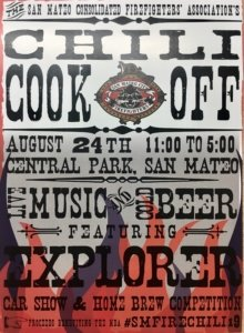 2019 San Mateo Firefighters Chili Cook Off @ Central Park | San Mateo | California | United States
